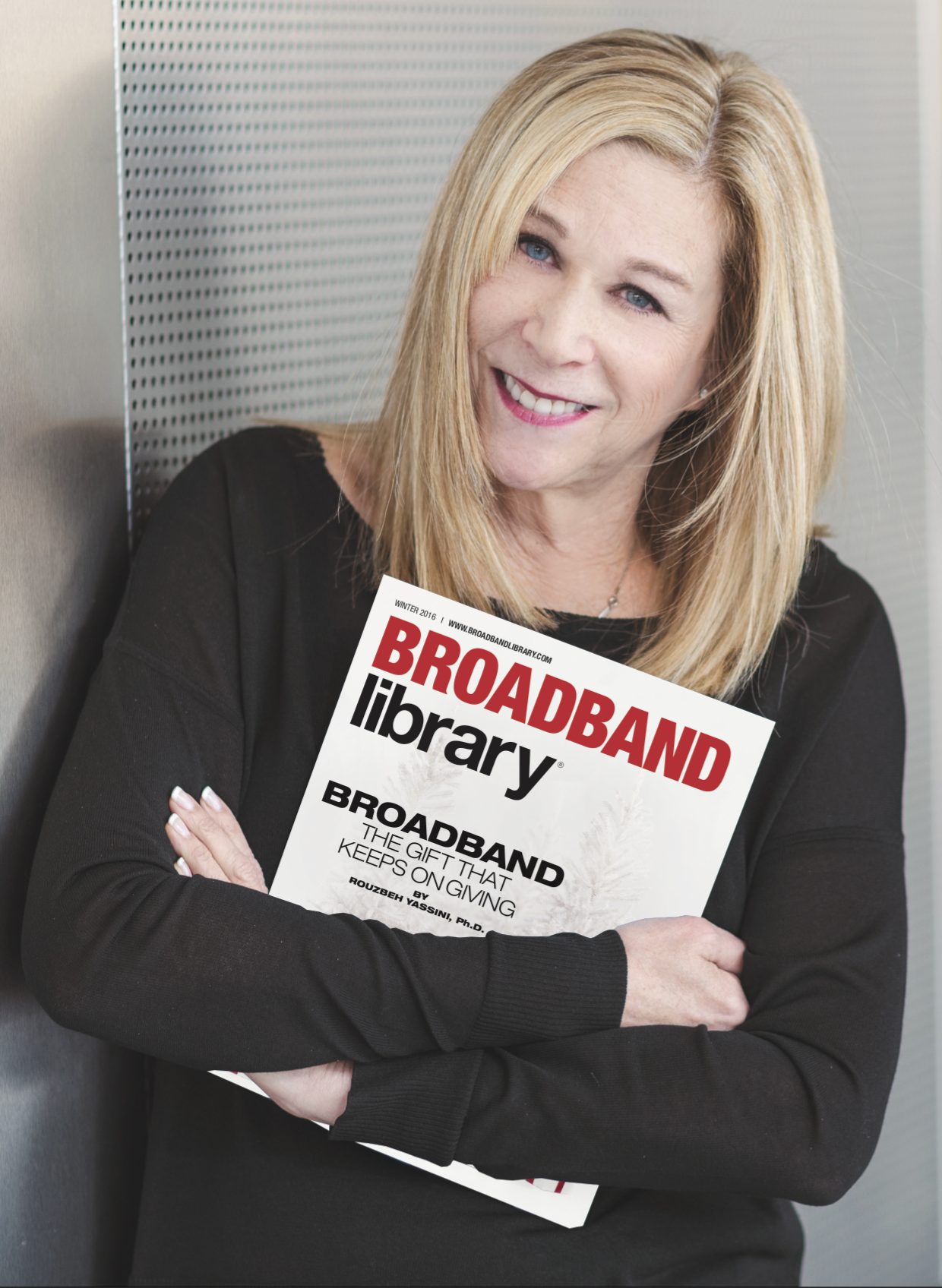 Cathy Wilson, Publisher, Broadband Library