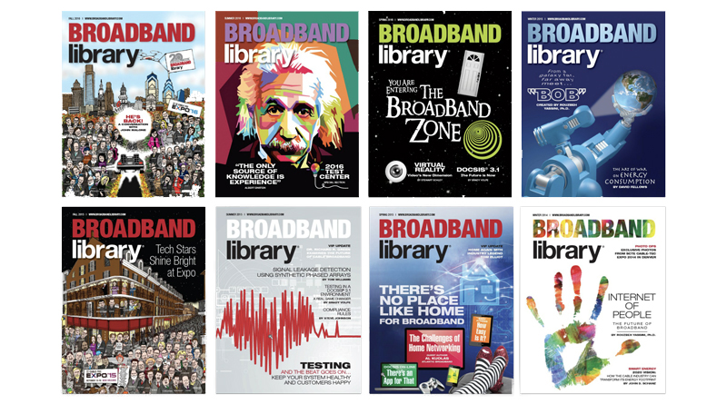Past Issues of Broadband Library